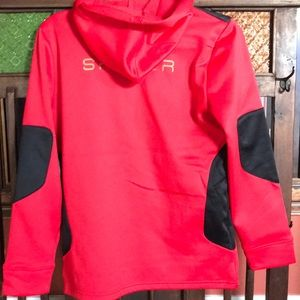 38eb6106f Spyder Marvel Riot ZipUp Hoody IronMan Red NWT Boy NWT